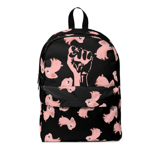 Exclusive StrongVegans Piggy Backpack - StrongVegans