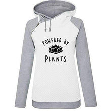 Load image into Gallery viewer, Powered By Plants Vegan Women Hoodie