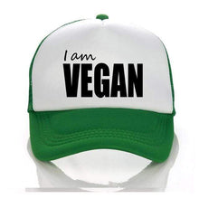 Load image into Gallery viewer, I Am Vegan Hat 2 - StrongVegans