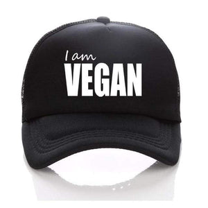 I Am Vegan Hat 2 - StrongVegans