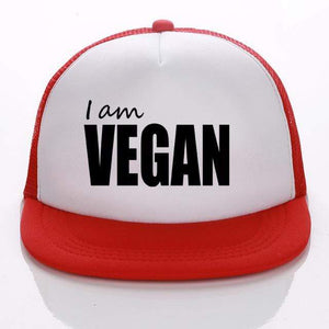 I Am Vegan Hat - StrongVegans