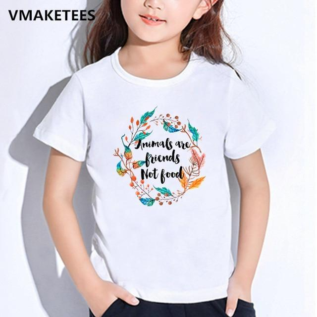 Kids Girls&Boys T-shirts - StrongVegans