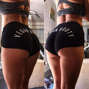 Vegan Booty Shorts - StrongVegans