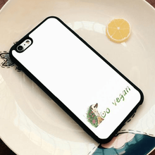 Load image into Gallery viewer, Vegan Premium iPhone Cases [Collection 1] - StrongVegans