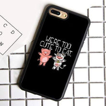 Load image into Gallery viewer, Vegan Premium iPhone Cases [Collection 2] - StrongVegans
