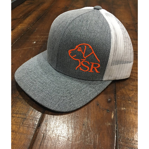 Heather Offset Logo hat
