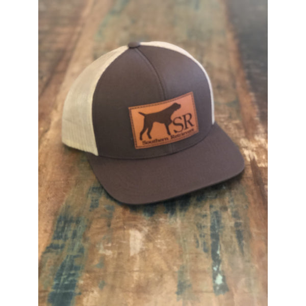 Pointer Leather Patch Hat