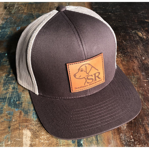 Logo Leather Patch Hats