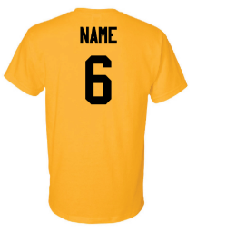 Fan Shirt With Name & Number