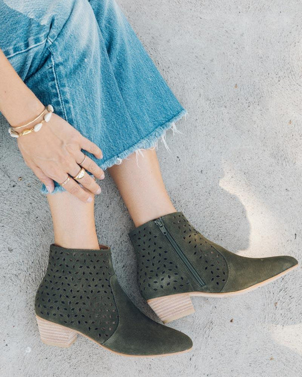Lola Perforated Bootie image