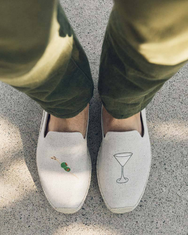 Men's Dry Martini Smoking Slipper image