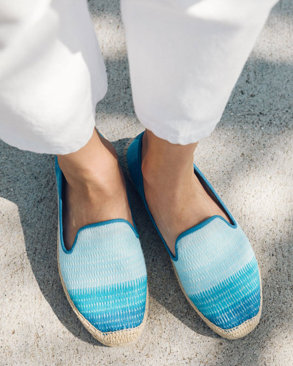 Ombre Stripe Smoking Slipper image