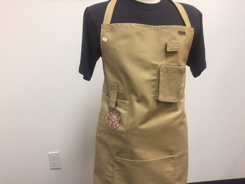 Fireman Apron in Faux Turnout Fabric