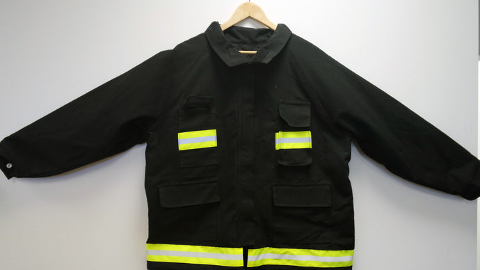Fire Winter Coat w/Reflective Trim