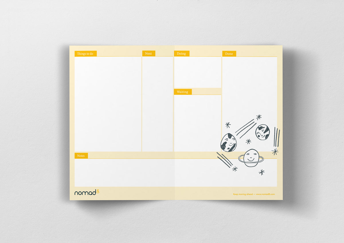 Illustrated Kanban Boards - Folding