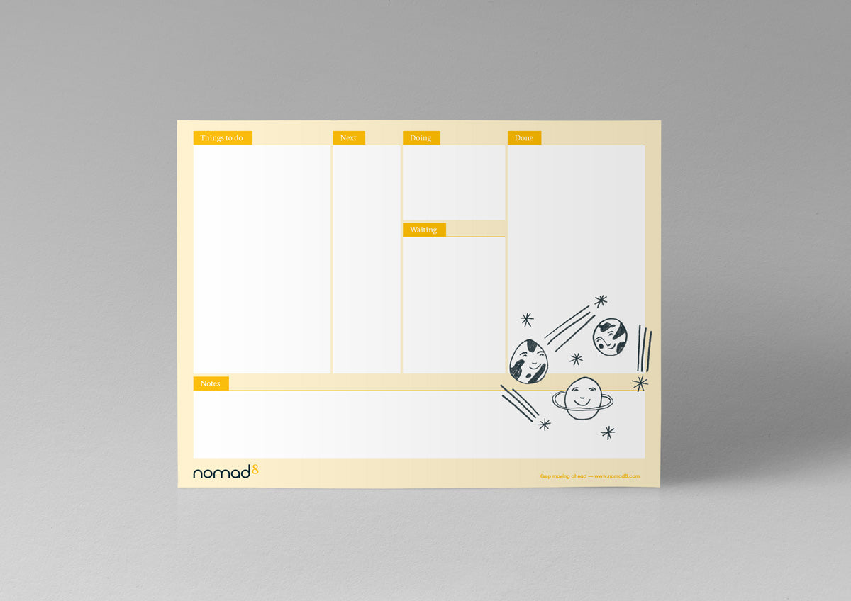 Illustrated Kanban Board - Standing