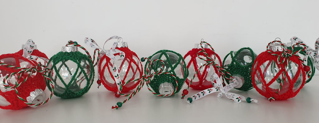 Fillable Chistmas Baubles