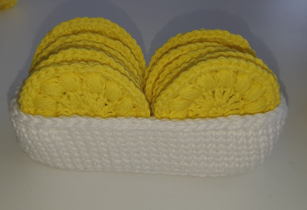 Face scrubbie basket set