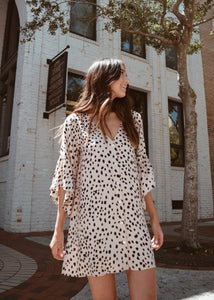 Blushing Cheetah Dress