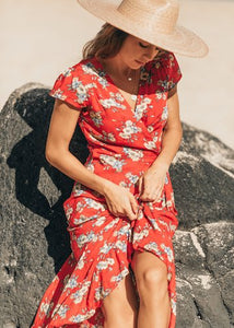 Byron Wrap Dress