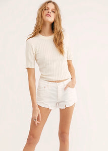 Ivory Loving Good Vibrations Shorts