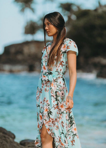 Antigua Wrap Dress