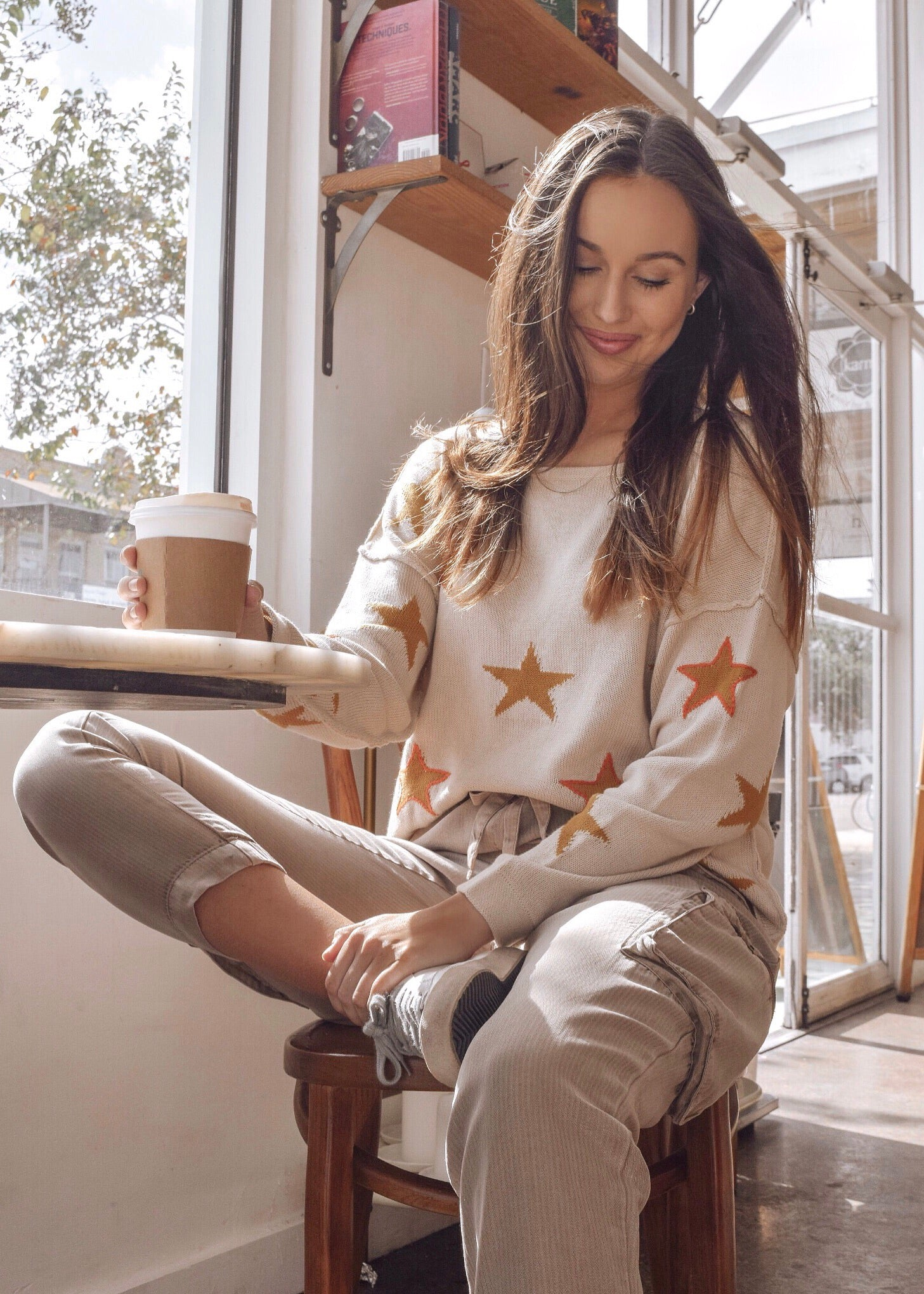 Starry Eyes Sweater