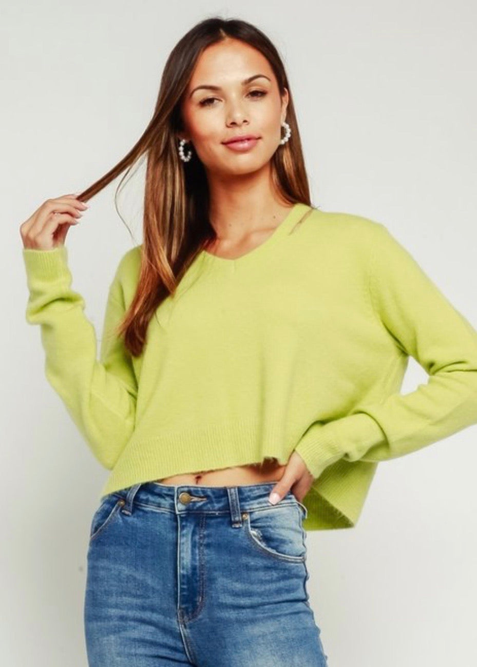 Keylime Sweater