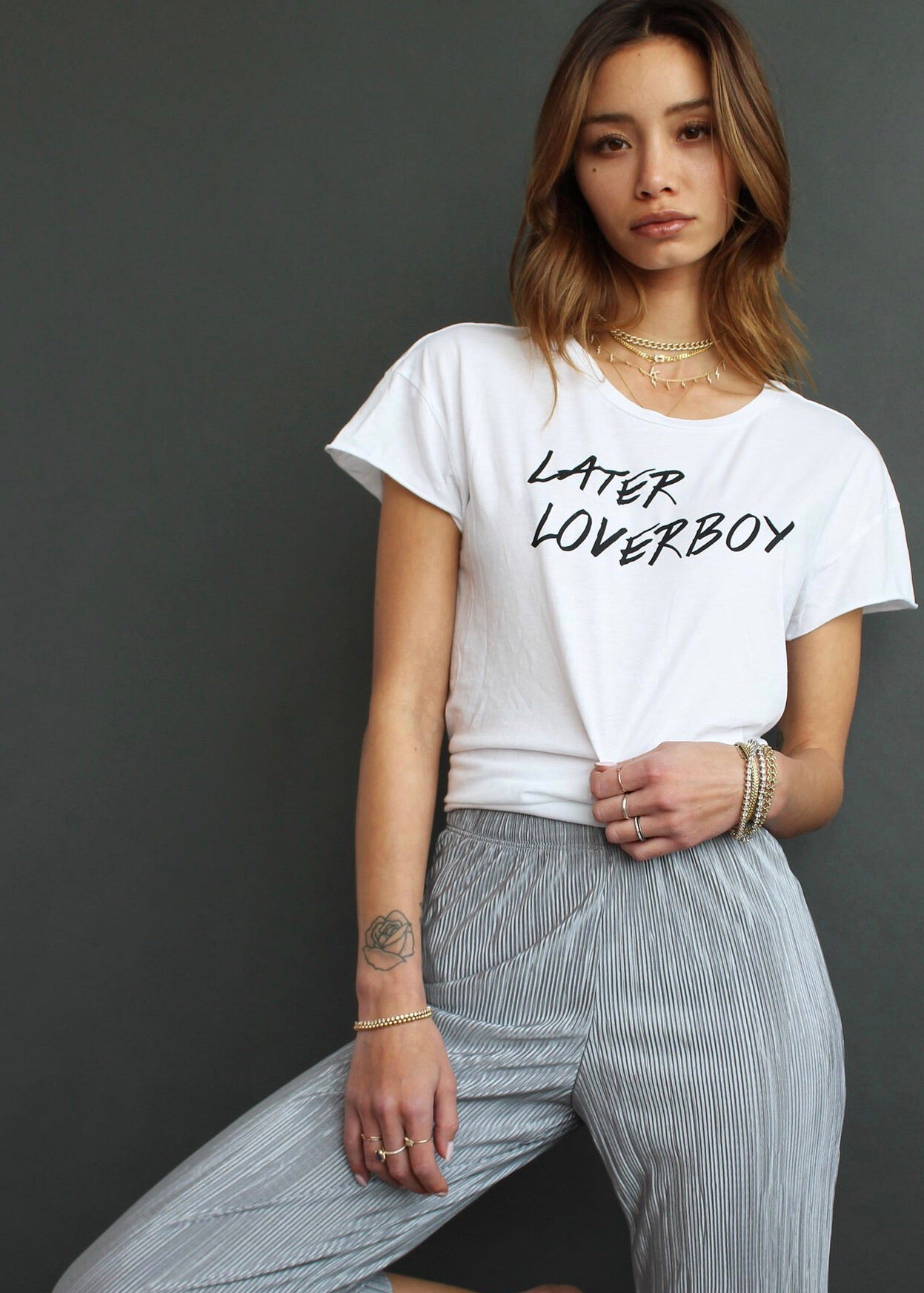 Later Loverboy Tee