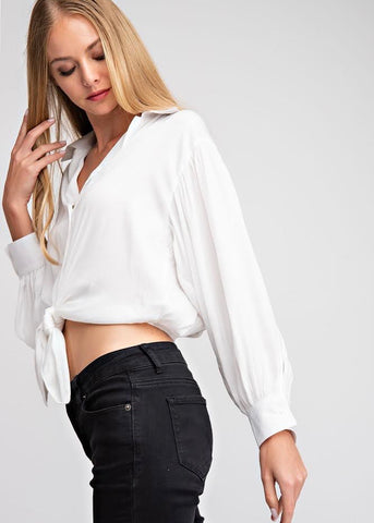 Not Your Work Blouse