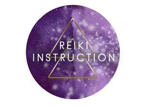 REIKI INSTRUCTION
