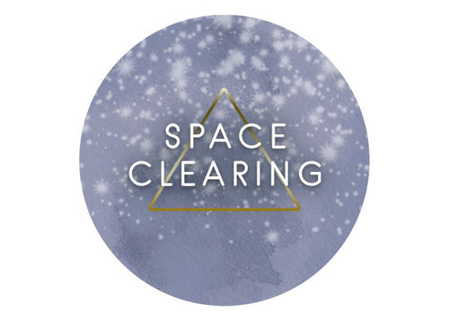 SPACE CLEARING + CRYSTAL CONSULTATION