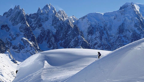 Skiing Chamonix, the home of the first Winter Olympics