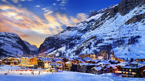 Val d'Isère has a reputation for some of the liveliest nightlife in the Alps