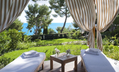 Grand-Hotel du Cap-Ferrat private cabana