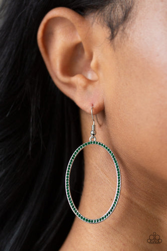 Dazzle On Demand - Rhinestone hoops - Paparazzi Accessories