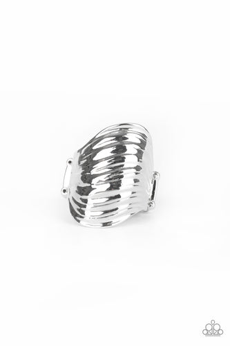 Paparazzi Made That SWAY - Silver Expandable Ring