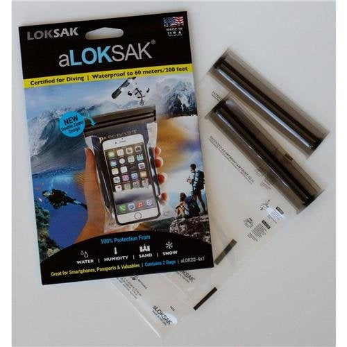 "aLOKSAK 4"" x 7"" (2 Pack) Element Proof Bags"