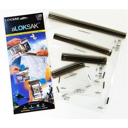"aLOKSAK Assortment MP (4""x 7"", 6""x 6"", 9""x 6"",12""x 12"")"