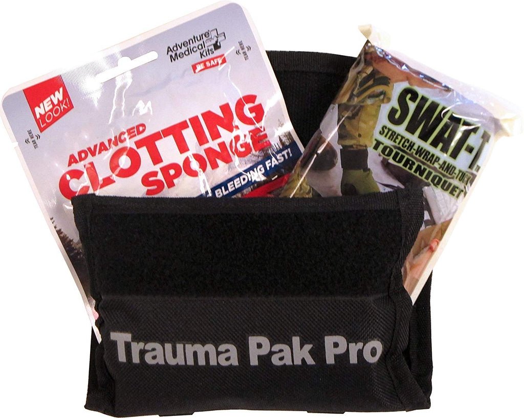 Trauma Pak Pro with QuikClot & Swat-T by Adventure Medical Kits