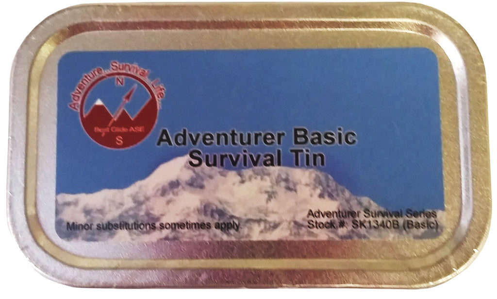 Adventurer Basic Survival Tin