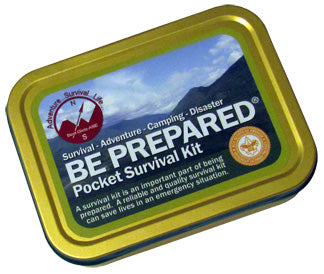 Be Prepared® Boy Scout Survival Kit