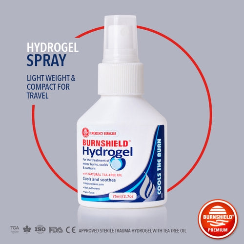 Burnshield 2.7 Oz Hydrogel Spray Bottle (Travel Size)