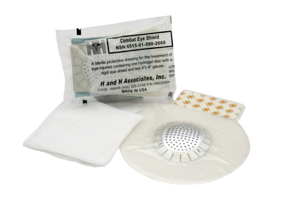 Combat Eye Shield by H & H Medical (NSN: 6515-01-590-2668)