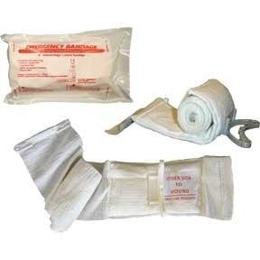 "4"" Multi-Purpose Emergency Bandage aka The Israeli Bandage (Civilian)"