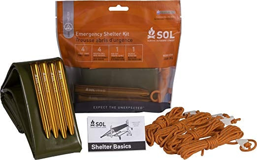 Emergency Shelter Kit by Survive Outdoors Longer