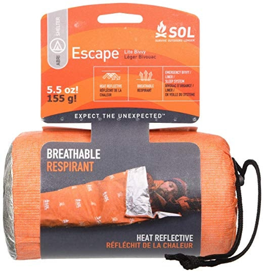 Escape Lite Bivvy by Survive Outdoors Longer (SOL)