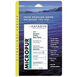 Micropur Water Purification Tablets - Katadyn North America, Inc.