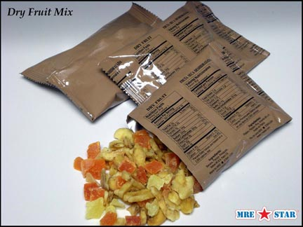 MRE Meals Ready To Eat with No Food Heater