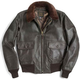 Cockpit Leather Navy G1 Aviator Jacket